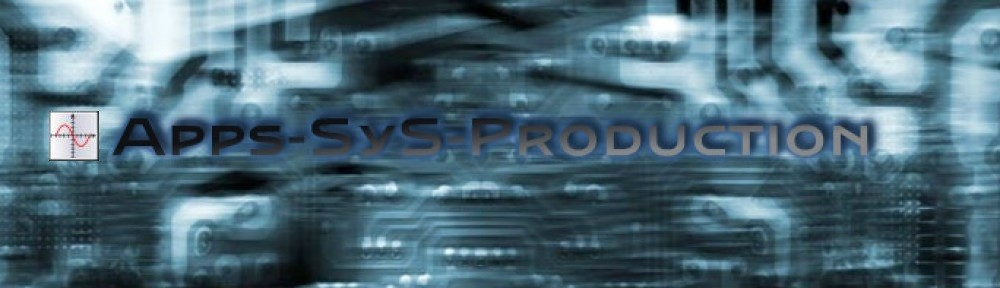 Apps-SyS Production